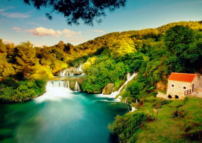 Krka National Park in Croatia is one of the author's dreamed destination. Photo by Robert Bilos.