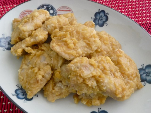 Salted Egg Chicken Fillet by Weekend Chef. Photo by Dolly Dy-Zulueta, InterAksyon.