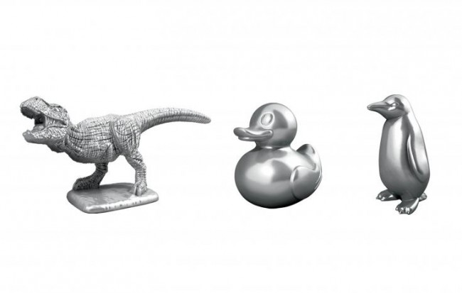 The newest additions to the roster of Monopoly tokens.  Hasbro Inc./Handout via Reuters.