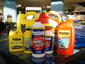 Prestone fluid products
