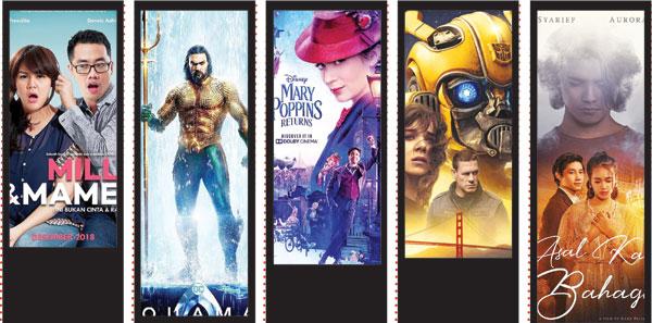 Lima Rekomendasi Film Akhir Tahun