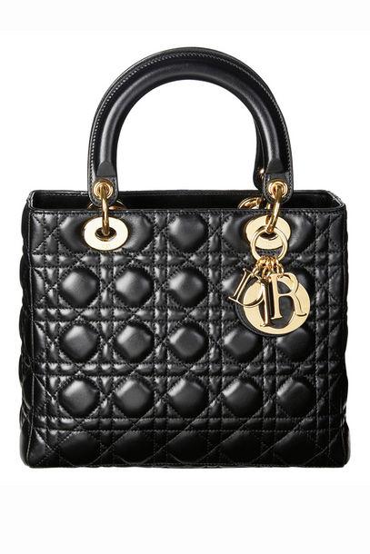 Dior Lady Dior black GHW