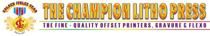 The Champion Litho Press logo
