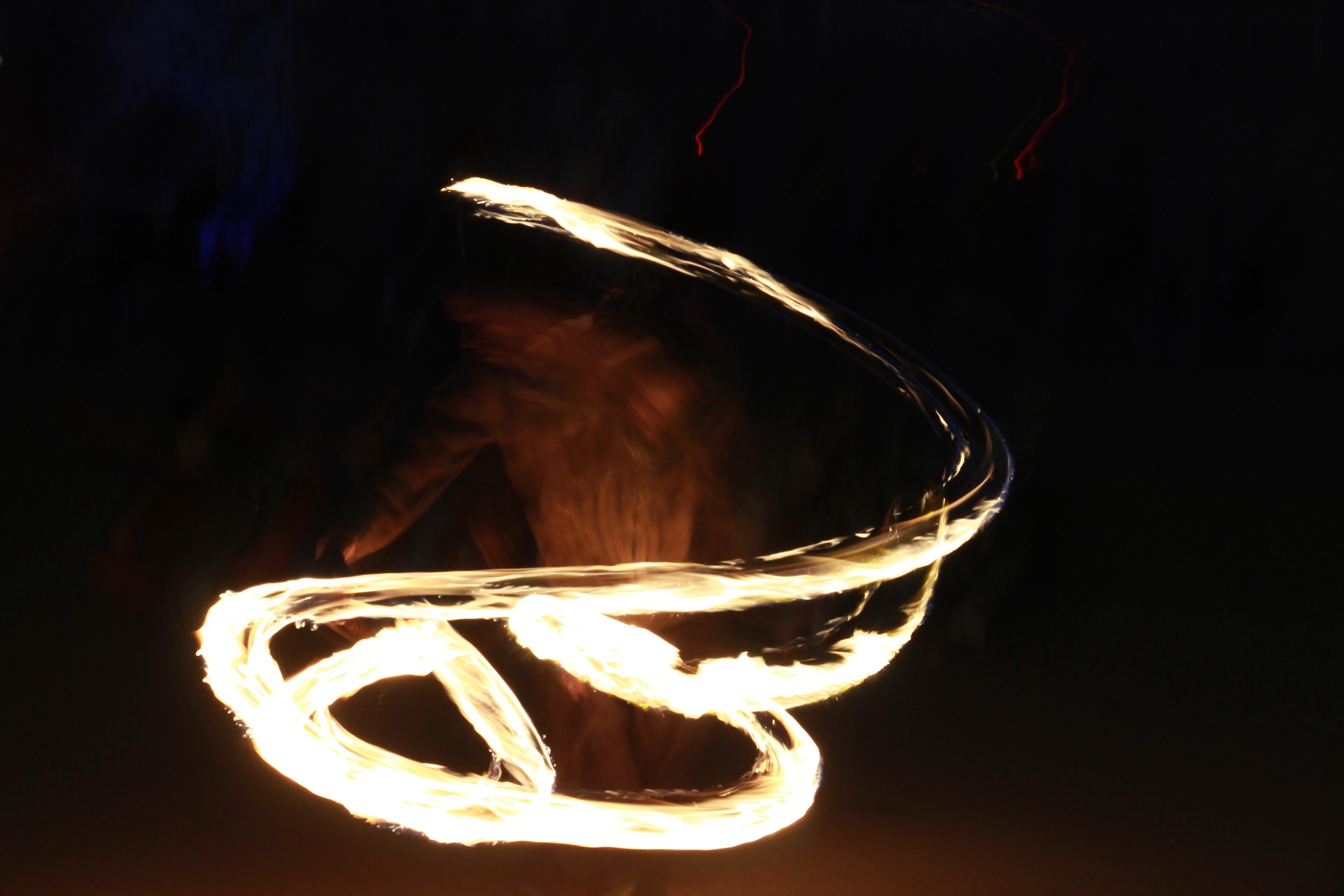 Fire Dancing in the Street  | Light Festival 2016 - Lyon