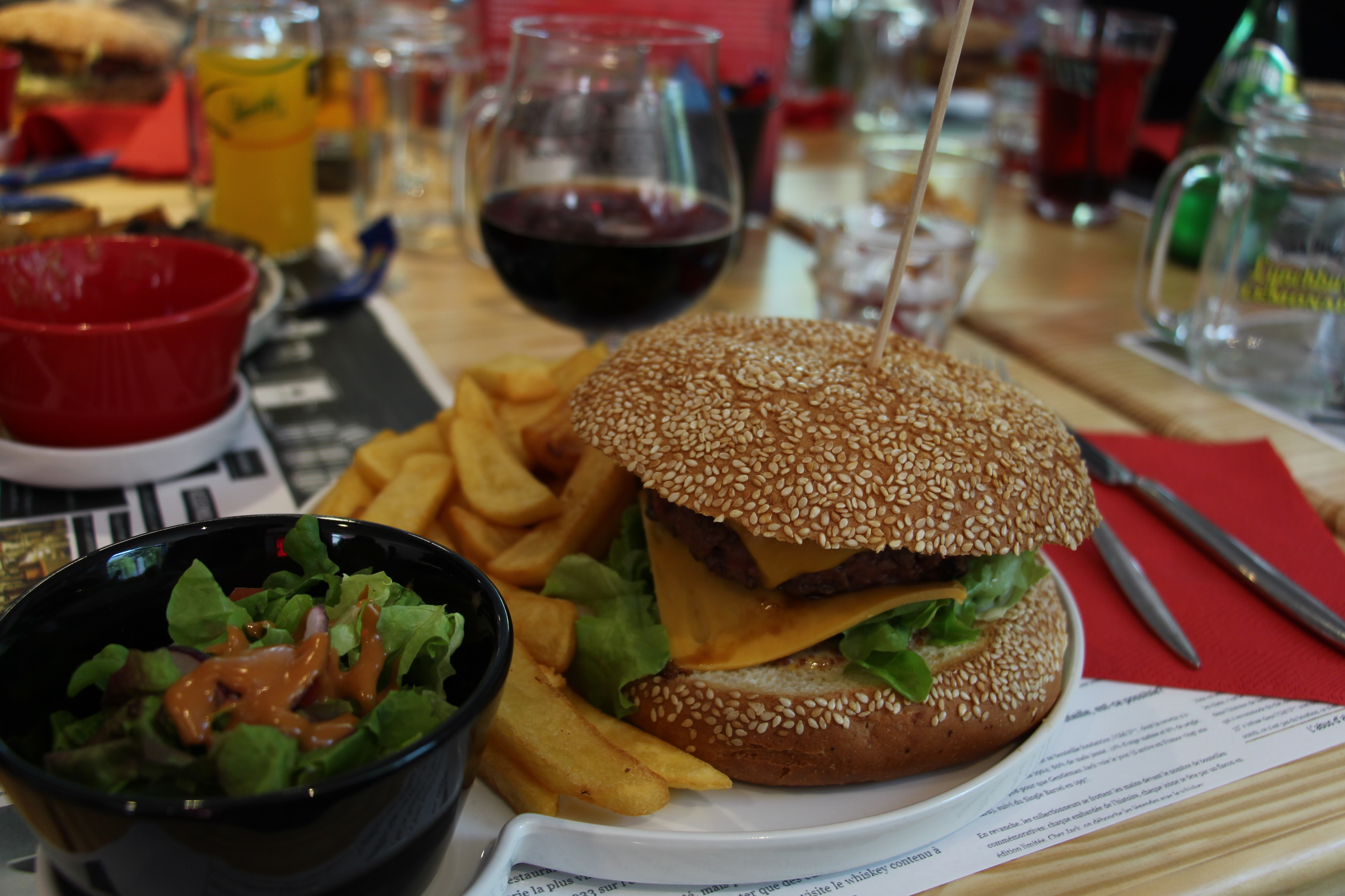 Burger | Cooking Jack | Lyon - France