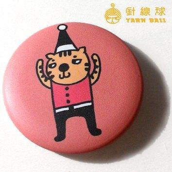 针线球 ||小动物小别针|| (戴帽子猫)