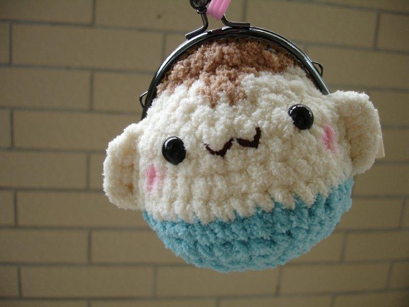 棉花糖动物口金包-小猴儿 - 设计师 小王子的棉花城堡