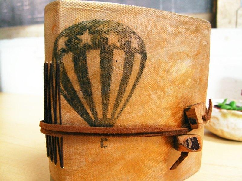 复古手绘笔记书-no2.梦想热气球
