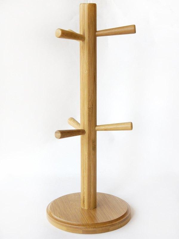 和风原木树枝纸胶带架,杯架