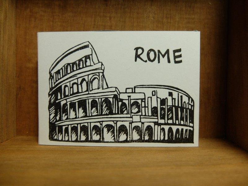 罗马竞技场印章