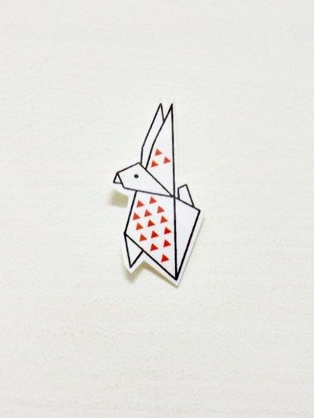所以折纸系列第一波可爱小动物就是兔子!