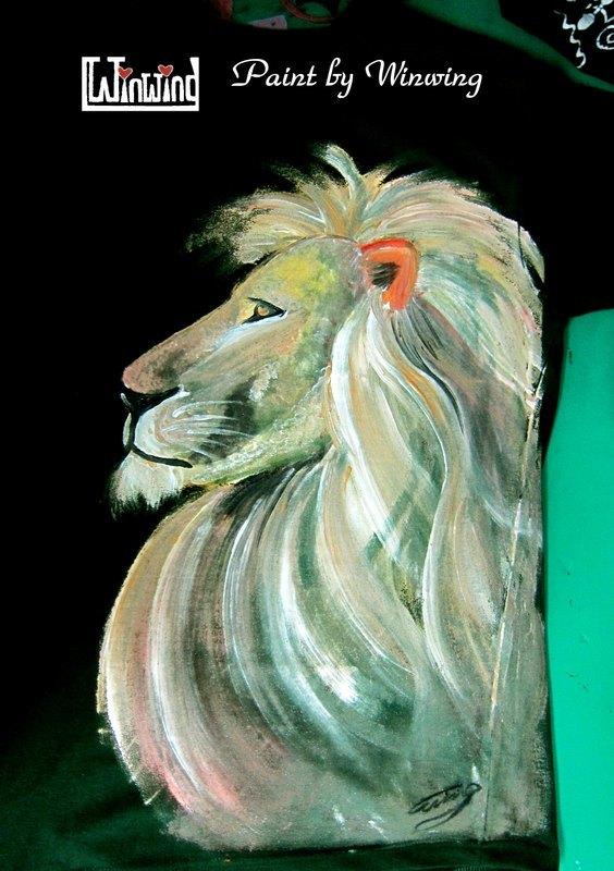 成年傲狮-winwing手绘衣