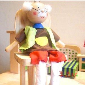 环保木偶手工图片