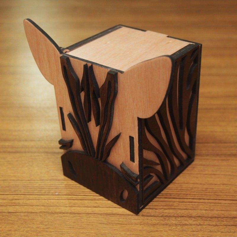 房子纸盒结构展开图