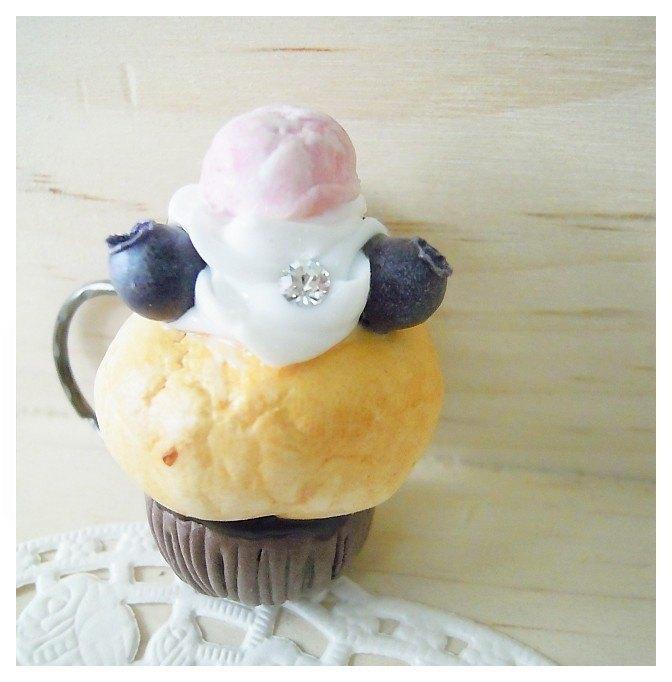 【下午茶-杯子蛋糕系列】小蓝莓.草莓冰淇淋 cupcake