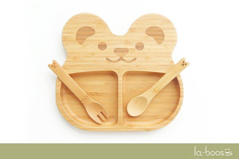 竹制儿童餐具