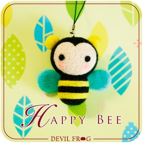 立体卷纸小动物——小蜜蜂