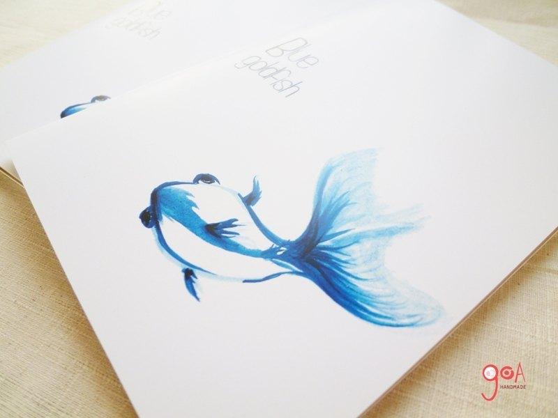 大神的铅笔手绘金鱼