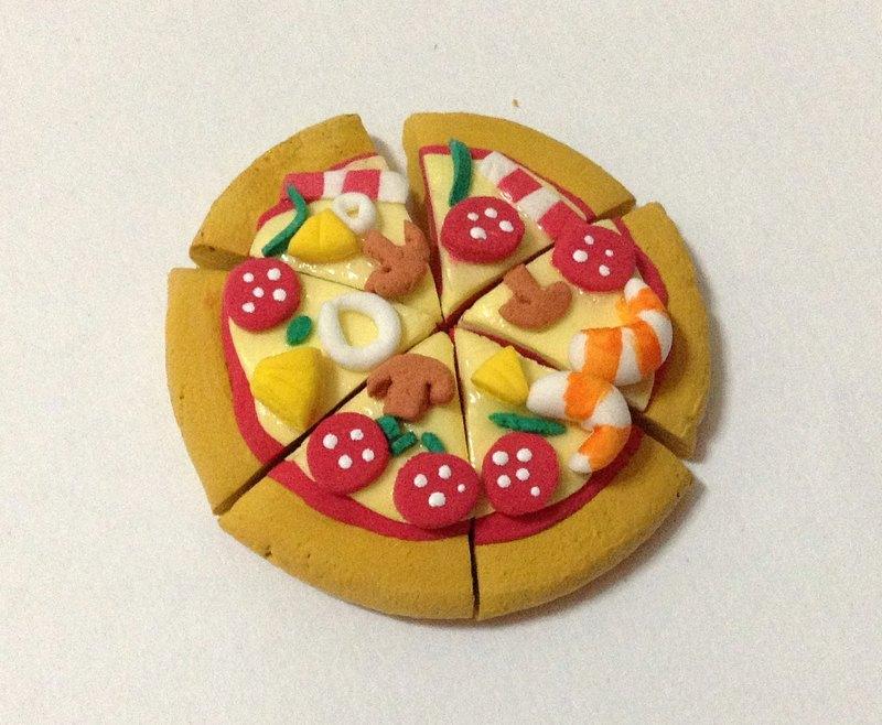 黏土作品图片可爱食物