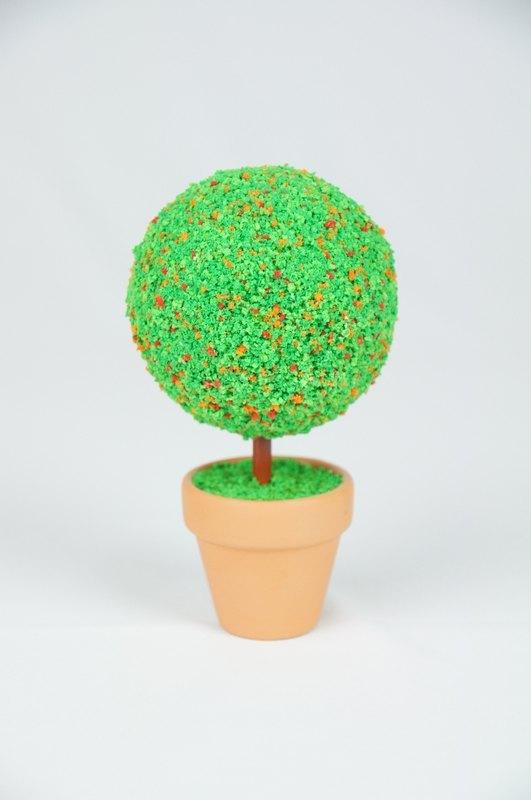 手工制作小礼物图解; [bonsai man] 夏树小姐 手工创意小树; 柠檬创意