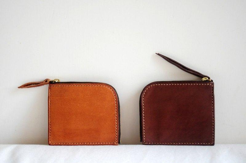 手缝皮革简约3合1银包 - 设计师品牌 artemis