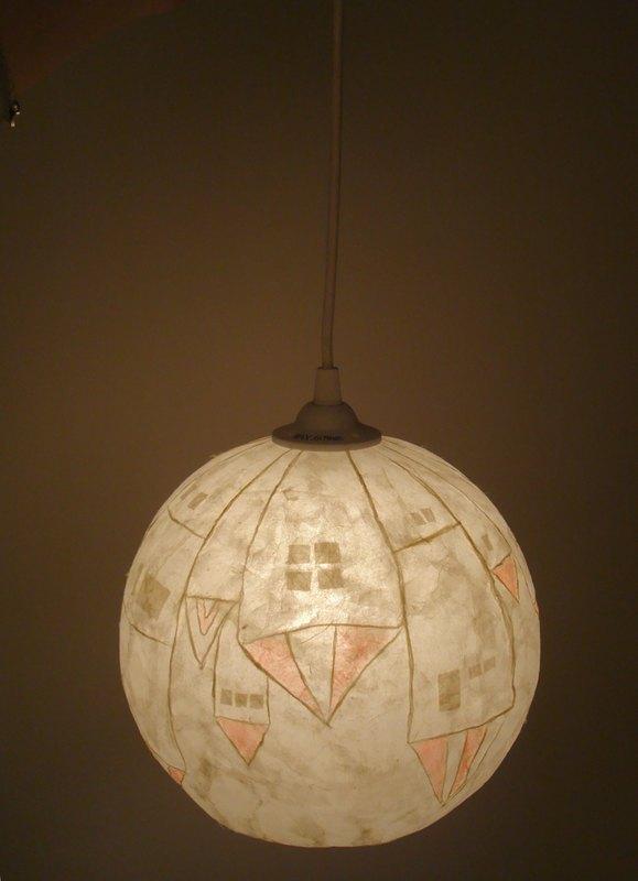 吊灯-童话小房子