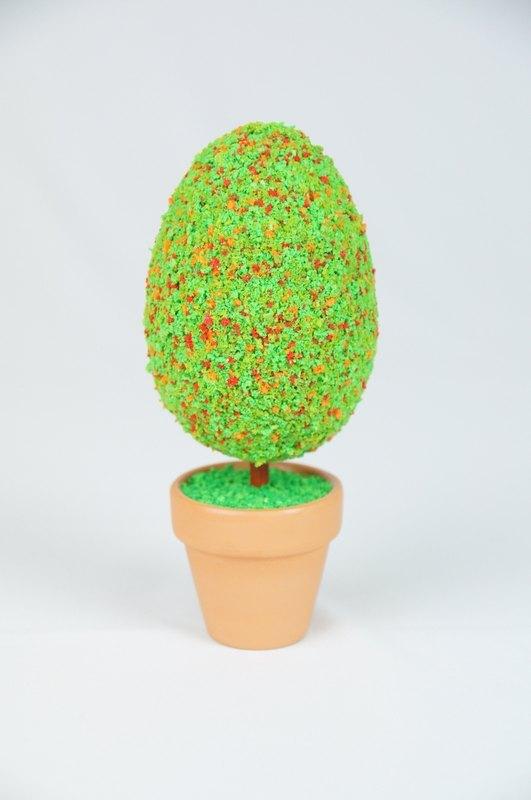 [bonsai man] 蛋头小姐 手工创意小树
