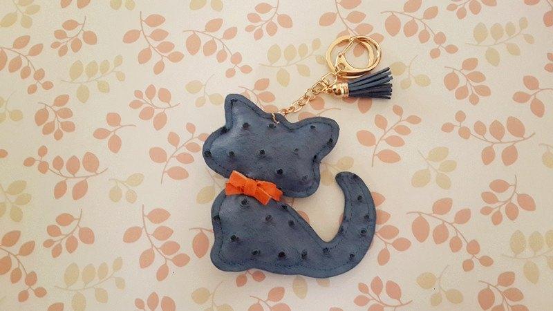 可爱猫咪造型吊饰~钥匙圈