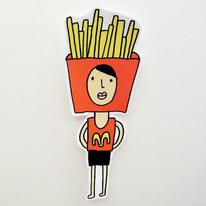 汉堡薯条图片卡通