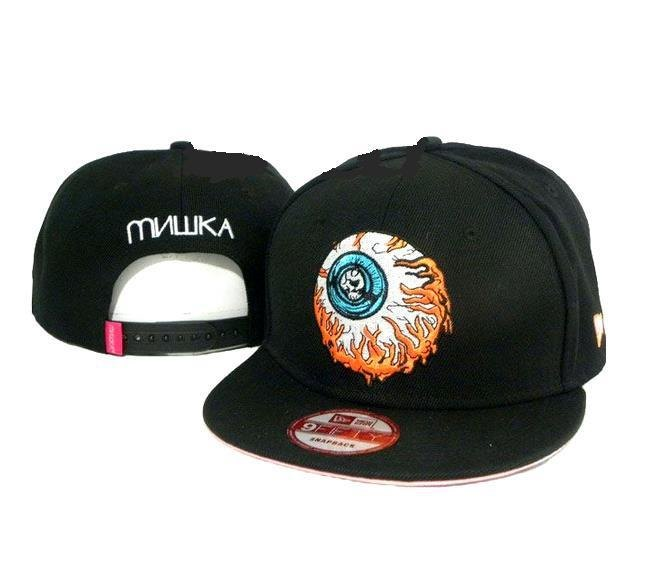 眼球 平檐棒球帽