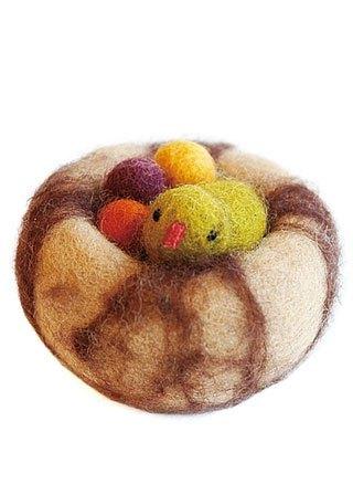幼儿园手工制作无织布水果