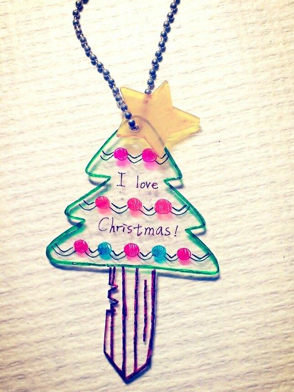圣诞节吊饰制作圣诞树-幼儿园吊饰布置-儿童教育-5
