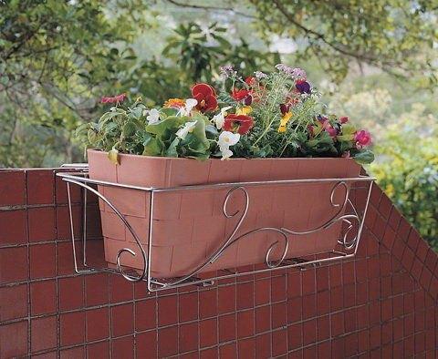 设计花纹不锈钢花架,壁挂不锈钢花台,花架花盆挂篮,使用最高品级304不图片