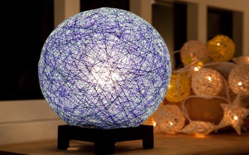 【海洋风】手工编织球灯罩