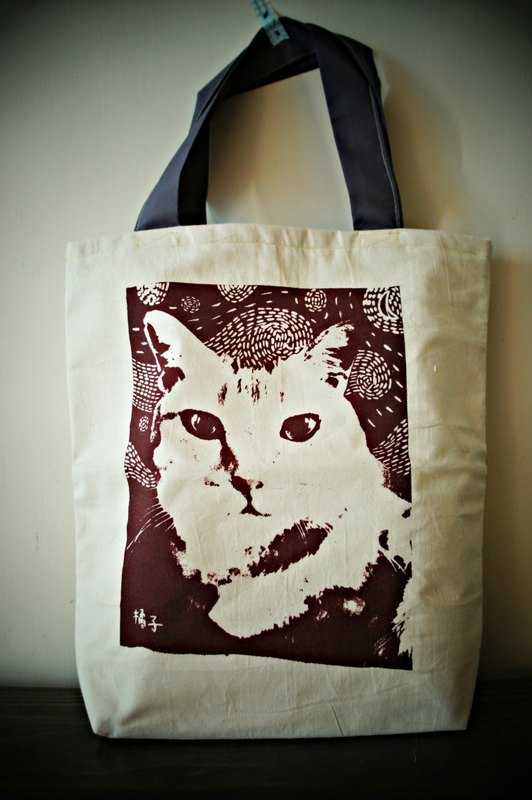猫咪纸袋手工制作图片