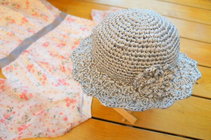 手工丝带帽子编织视频
