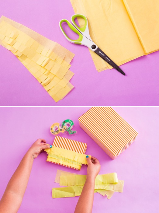 皱纹纸手工制作大全礼物盒