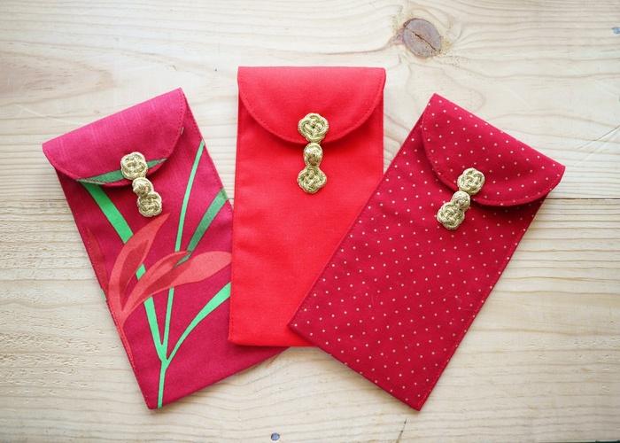 用特殊材质制作的创意红包袋