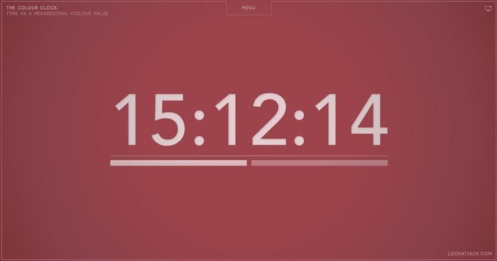 Pantone 色票時鐘:用顏色告訴你時間!