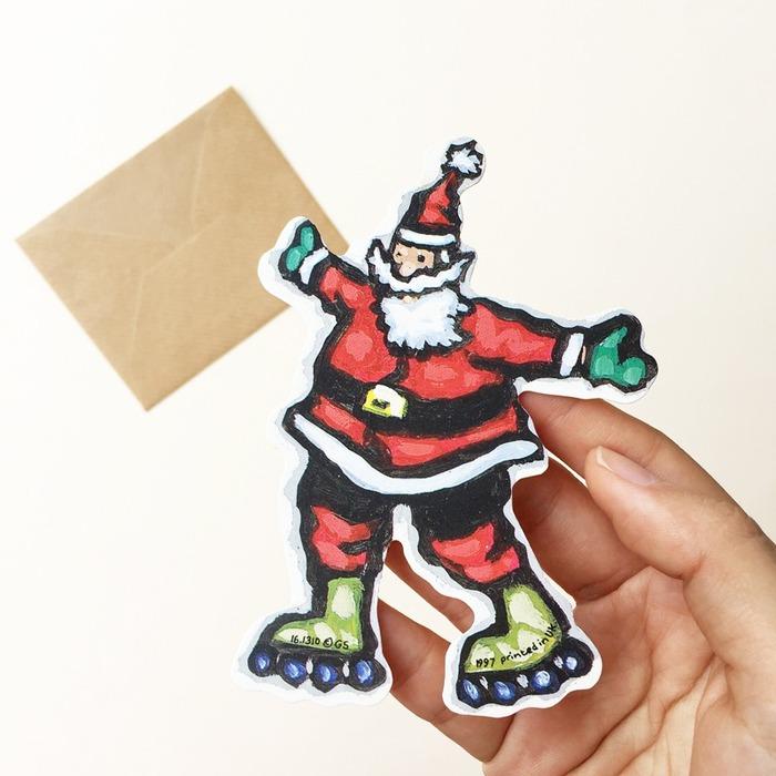手绘礼物卡
