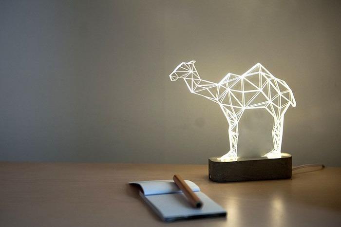 几何图形 可以直接印出来的动物几何面具!