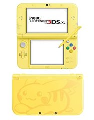 New Nintendo 3DS XL Console (Pikachu Yellow Editio