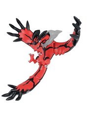 Pokemon Y Plastic Model - Yveltal