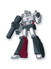 Transformer Funky Magnet Megatron