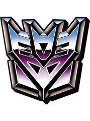Transformer Funky Magnet Decepticon Symbol