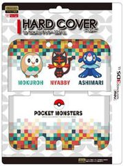 3DS New LL Mokuroh Friends P078 Hard Cover