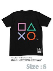 OFFICIAL PLAYSTATION BUTTON T-SHIRT - S