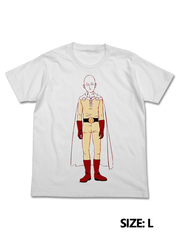 COSPA ONE PUNCH MAN WHITE SIZE L