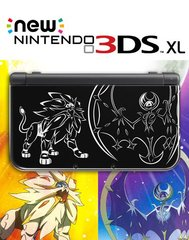 New 3DS XL Pokemon Sun & Moon Console (Solgaleo Lu