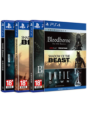 Triple Pack - Bloodborne, Shadow of the Beast, Until Dawn - PS4